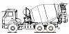 Автобетоносмеситель КАМАЗ 58146W