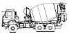 Автобетоносмеситель КАМАЗ 58146V