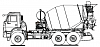 Автобетоносмеситель 5814Т6